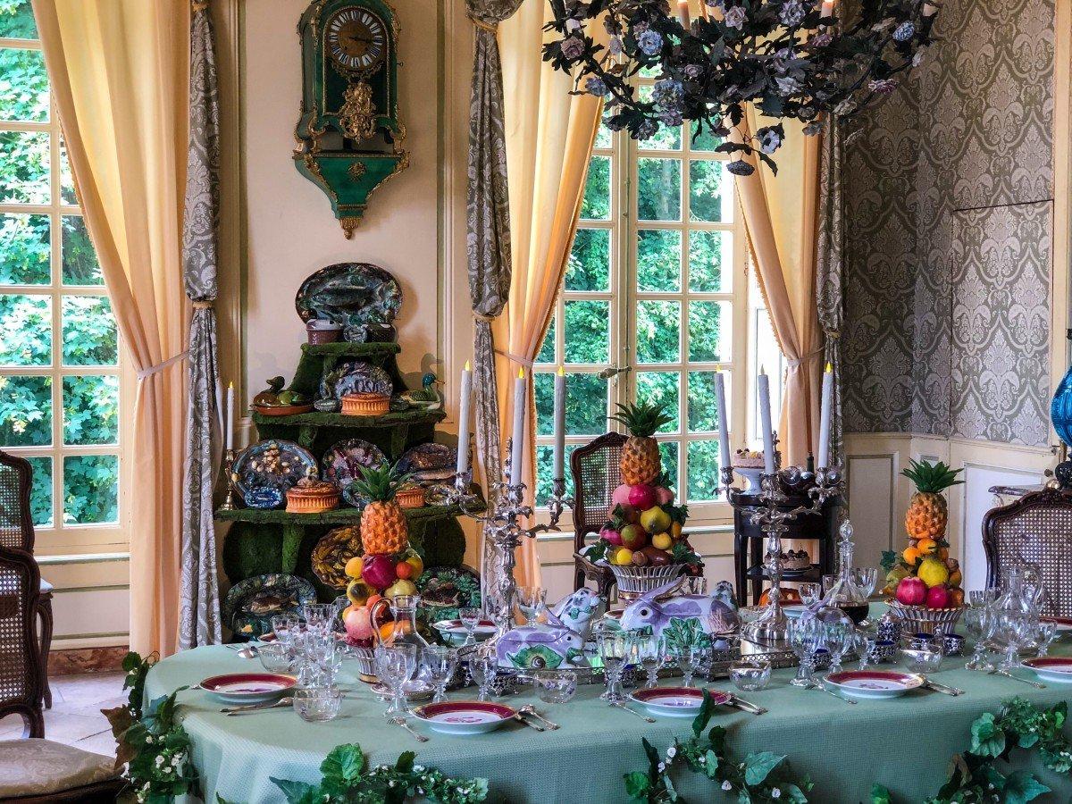 Chateau de Vendeuvre main Dining Room