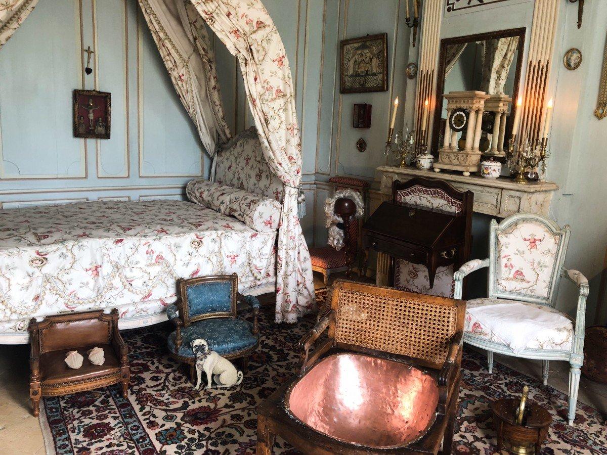 Chateau de Vendeuvre Louise Aimee's bedroom