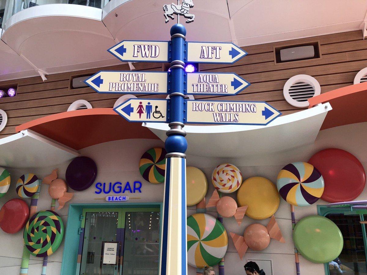 Sugar Beach on the Boardwalk Royal caribbean
