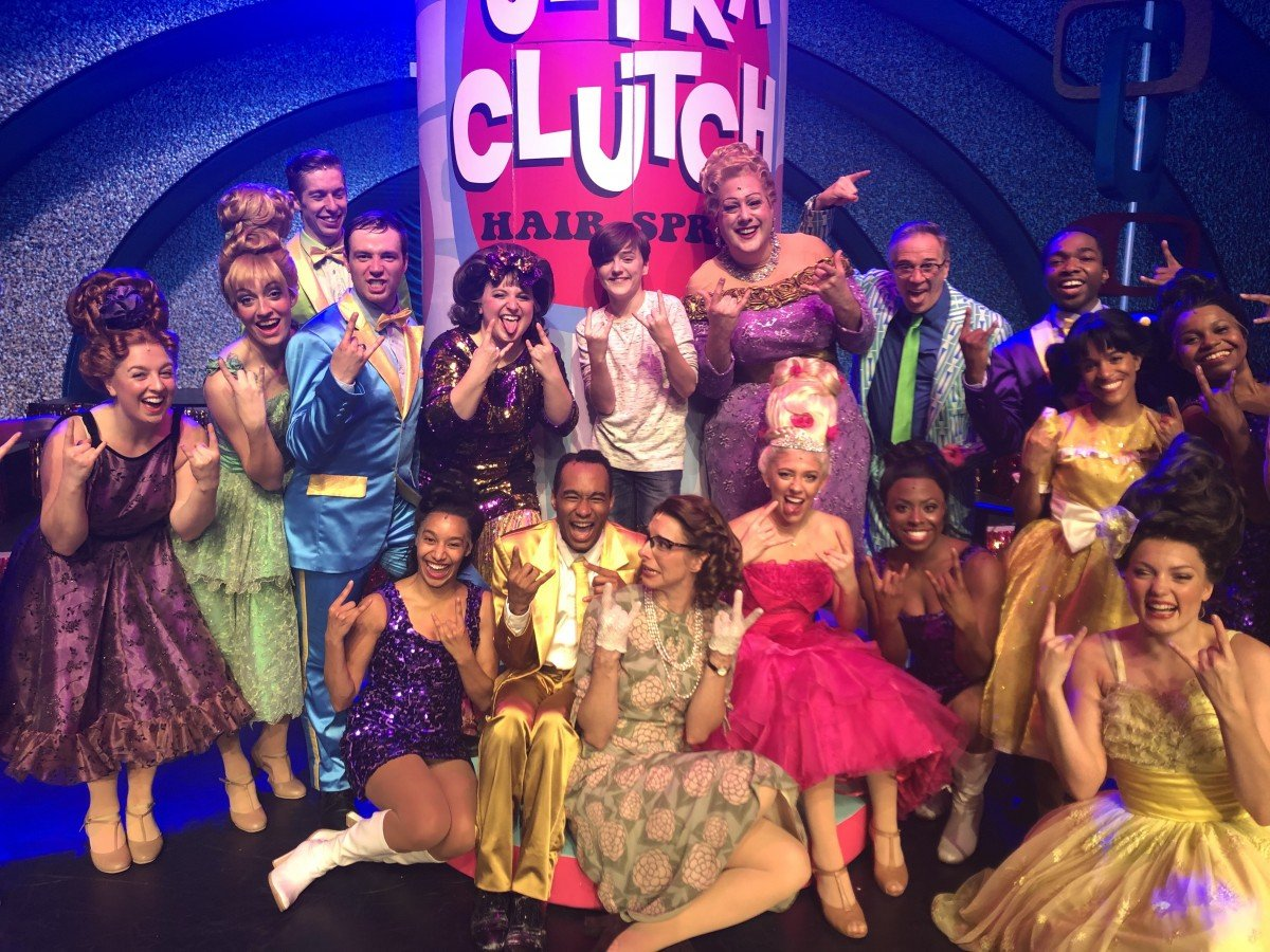 Hairspray the musical onboard Symphony of the seas the meet the cast