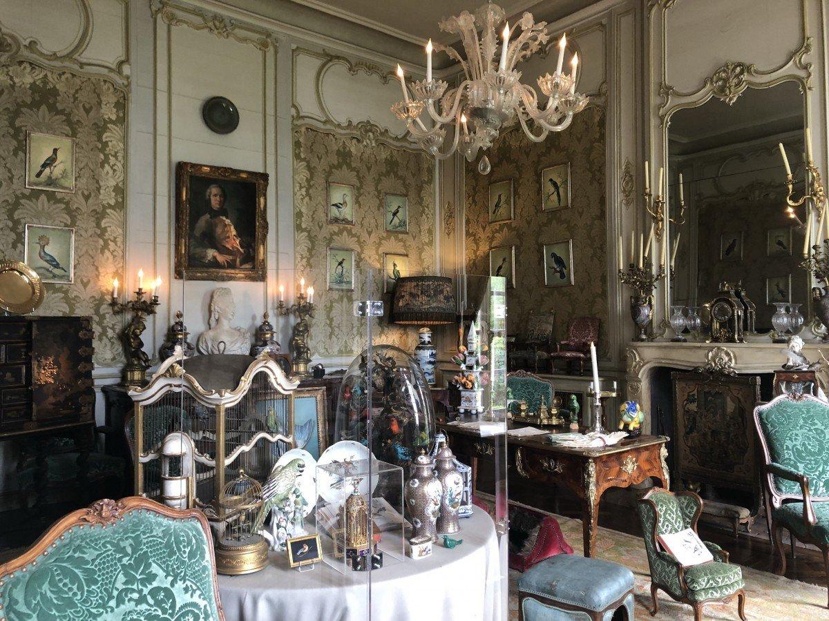 Chateau de Vendeuvre The Study