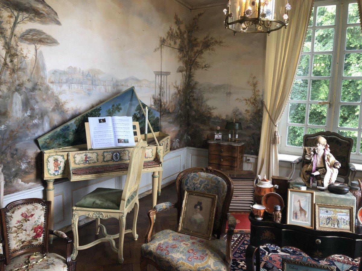 The Smoking Room Chateau de Vendeuvre