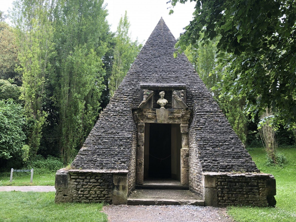 The ice house at Chateau de Vendeuvre France Normandy Caen