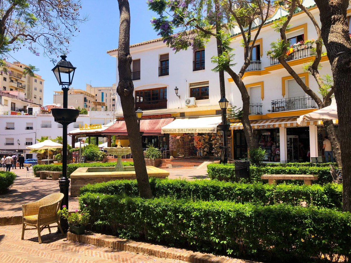 Puerto Banus to Marbella Boat Trip Fly Blue ferry Marbella Old Town