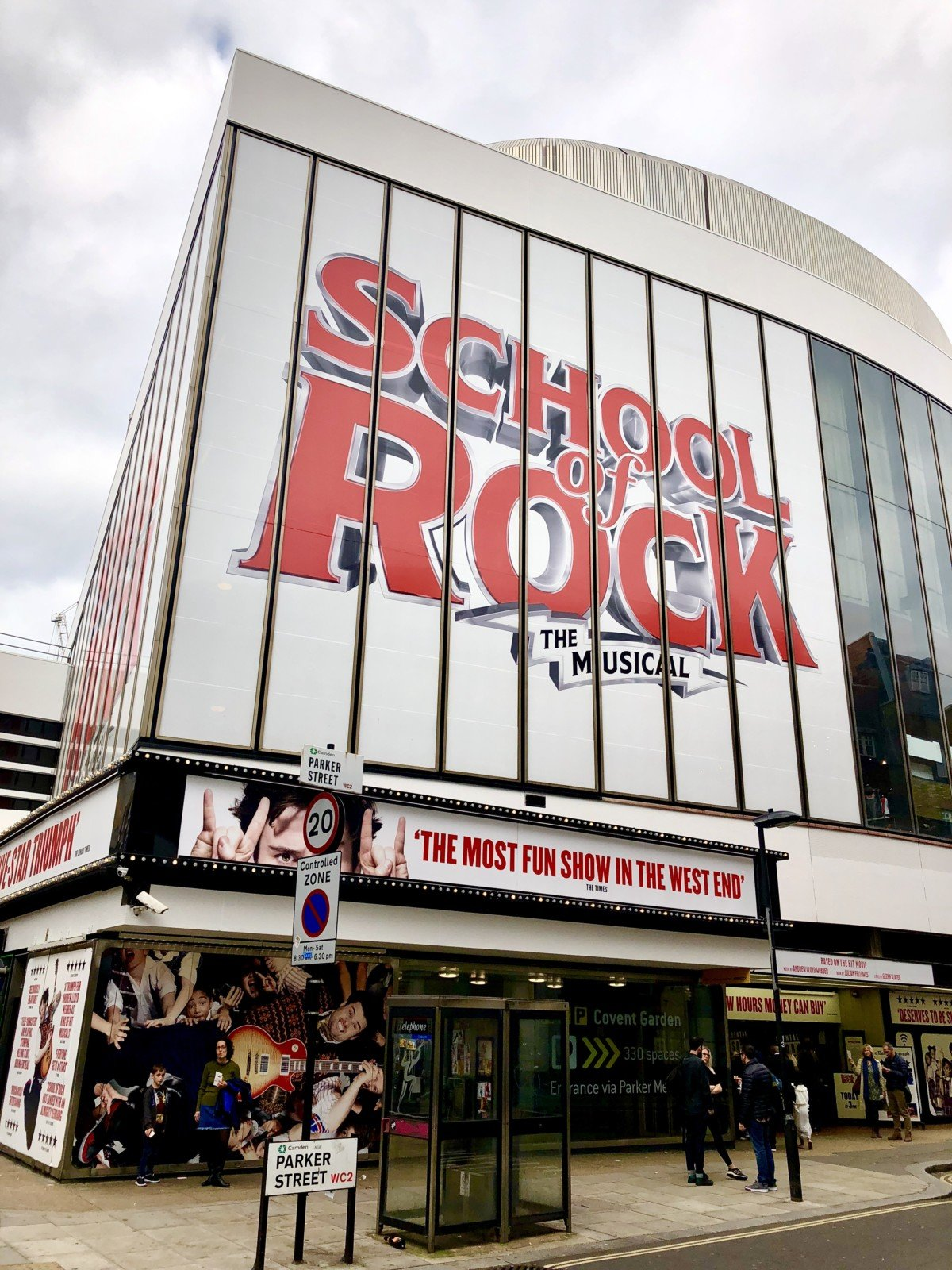 School of Rock the Musical Cheap tickets for as little as £15 in London with the Lottery ticket entry online