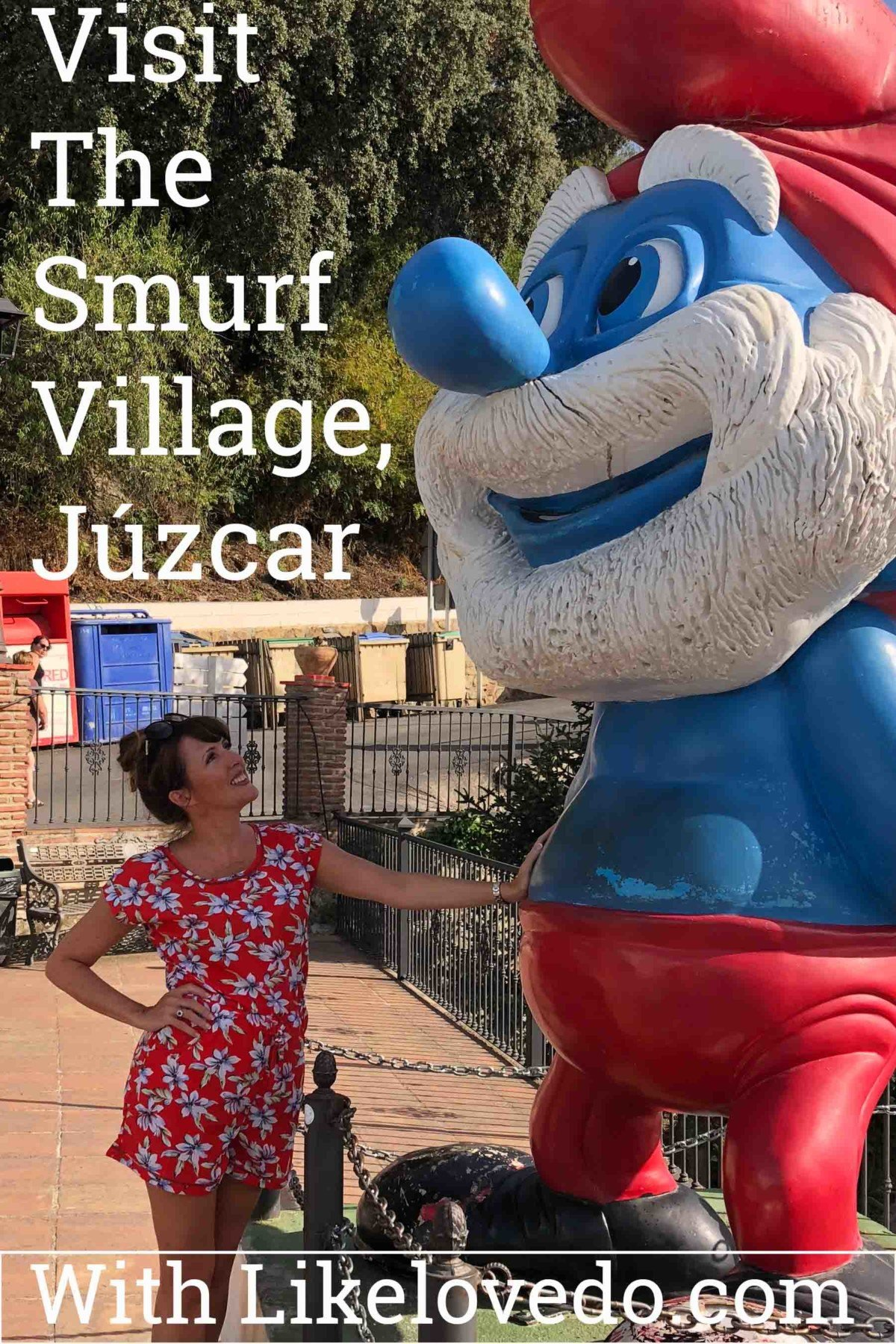 The Smurf Village of Júzcar the Pretty blue village of Andalusia Spain