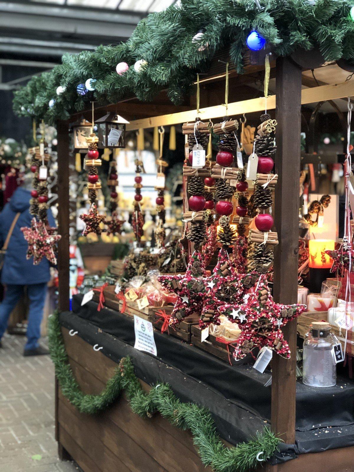 Christmas at Meadow Croft garden centre
