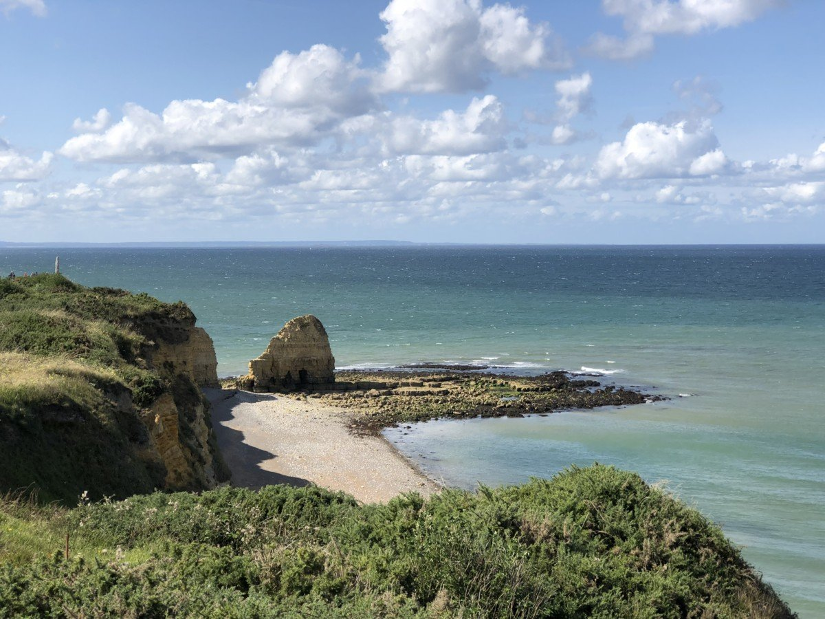 Pointe du Hoc in Normandy France, discover the Seine by river cruise