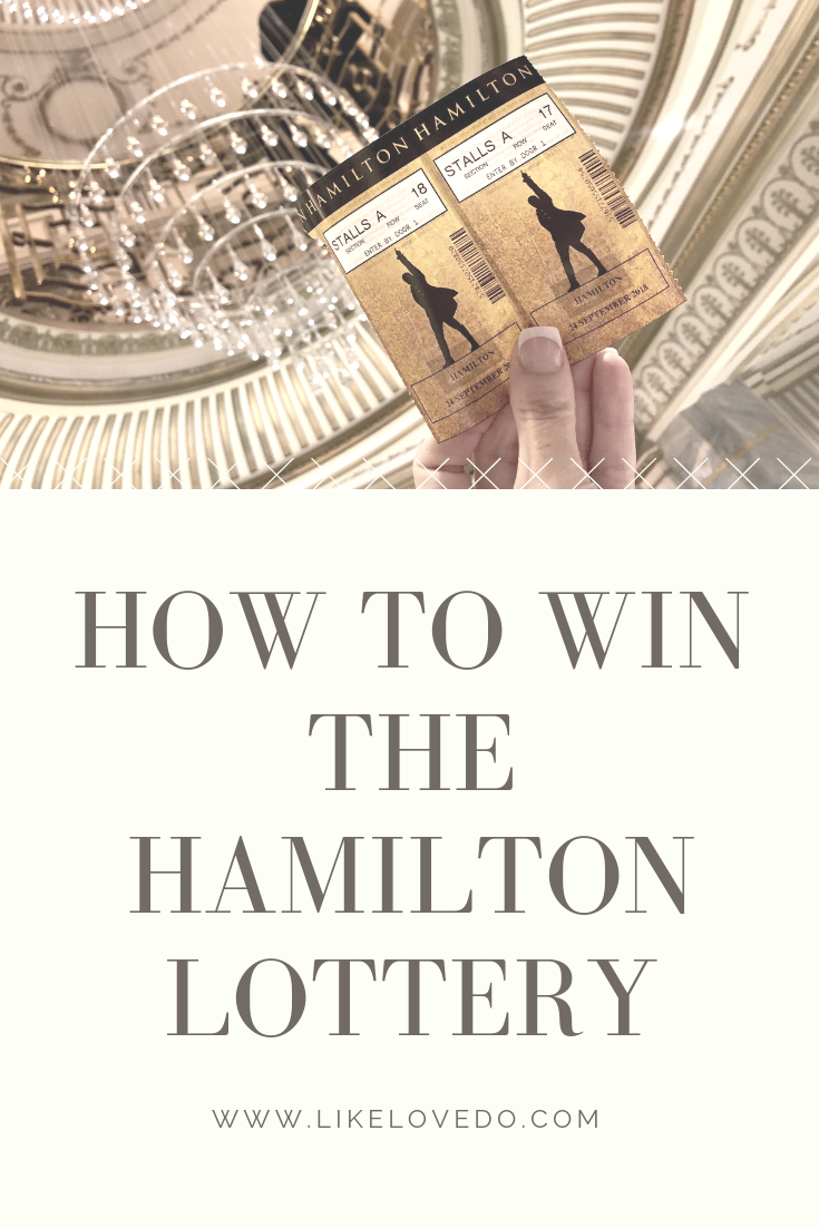 How to win the Hamilton theatre ticket lottery. Cheap London theatre tickets for a day out in London