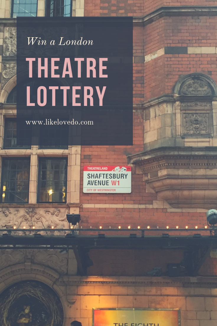 Going to London? Try entering the London Theatre Lottery and win a cheap ticket to a top London Musical