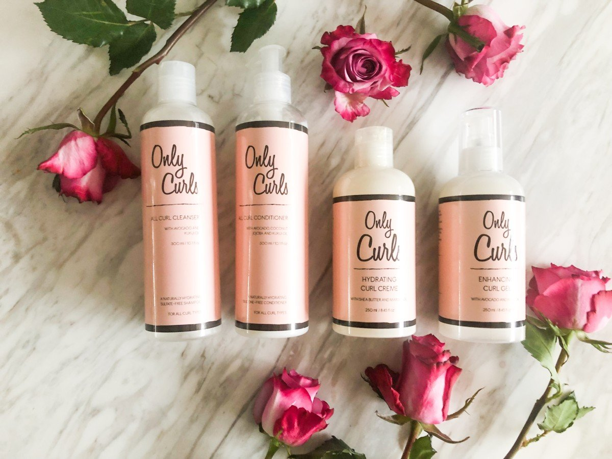 Specifically for girls with curls and perfect for the curly girl method Only Curls are a vegan natural brand straight from London.