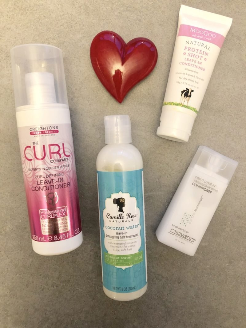 Curly Girl Method Approved Leave in Conditioners in the UK