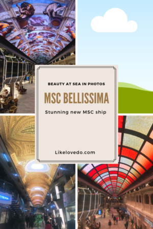 MSC Bellissima ship review . The stunning luxury cruise ship perfect for families and children