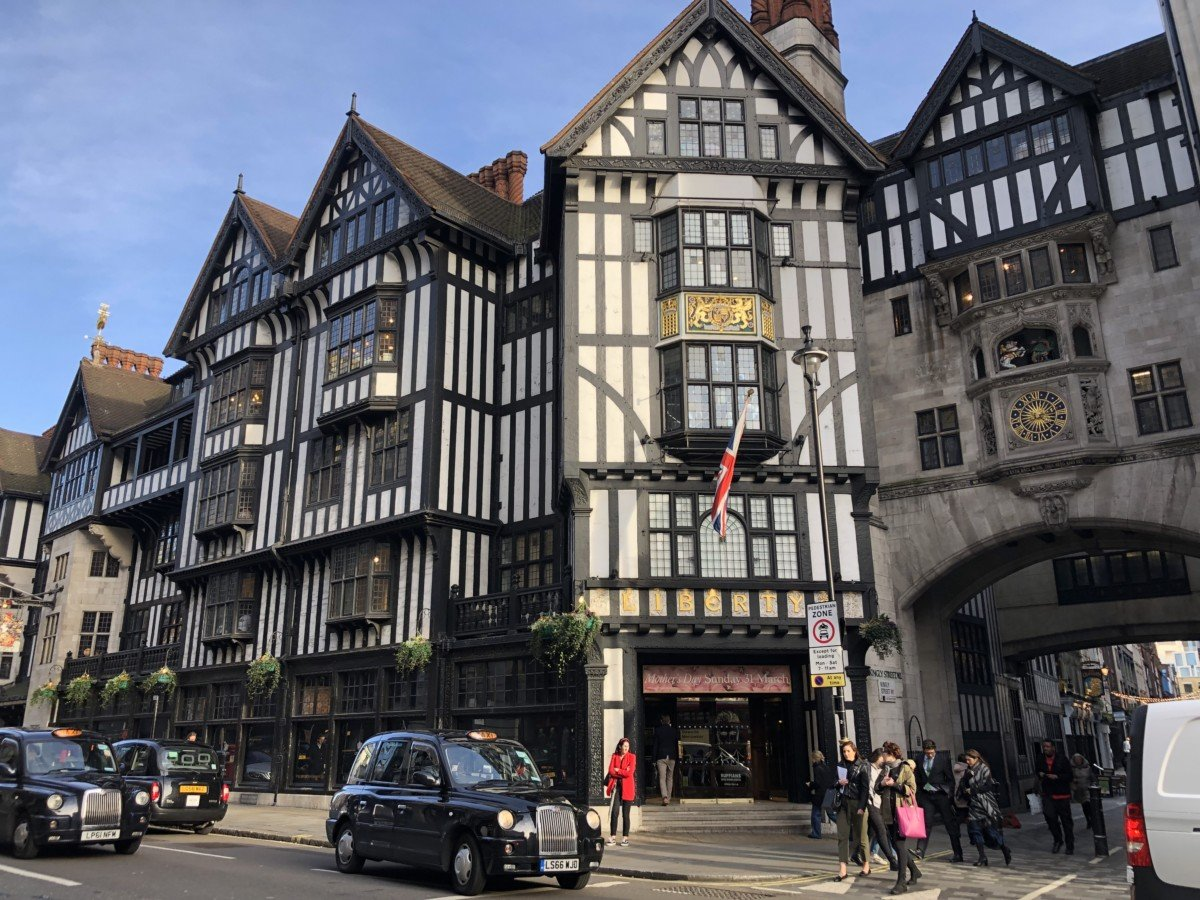 Shopping should also be top on your list for Soho. Of course the iconic Liberty stands proud on the corner of Soho's streets and is must for anyone visiting London. Carnaby street has some quirky flagship stores including