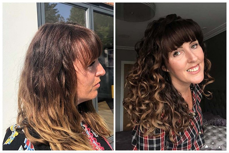 Curly Girl Method before and after photos and tips