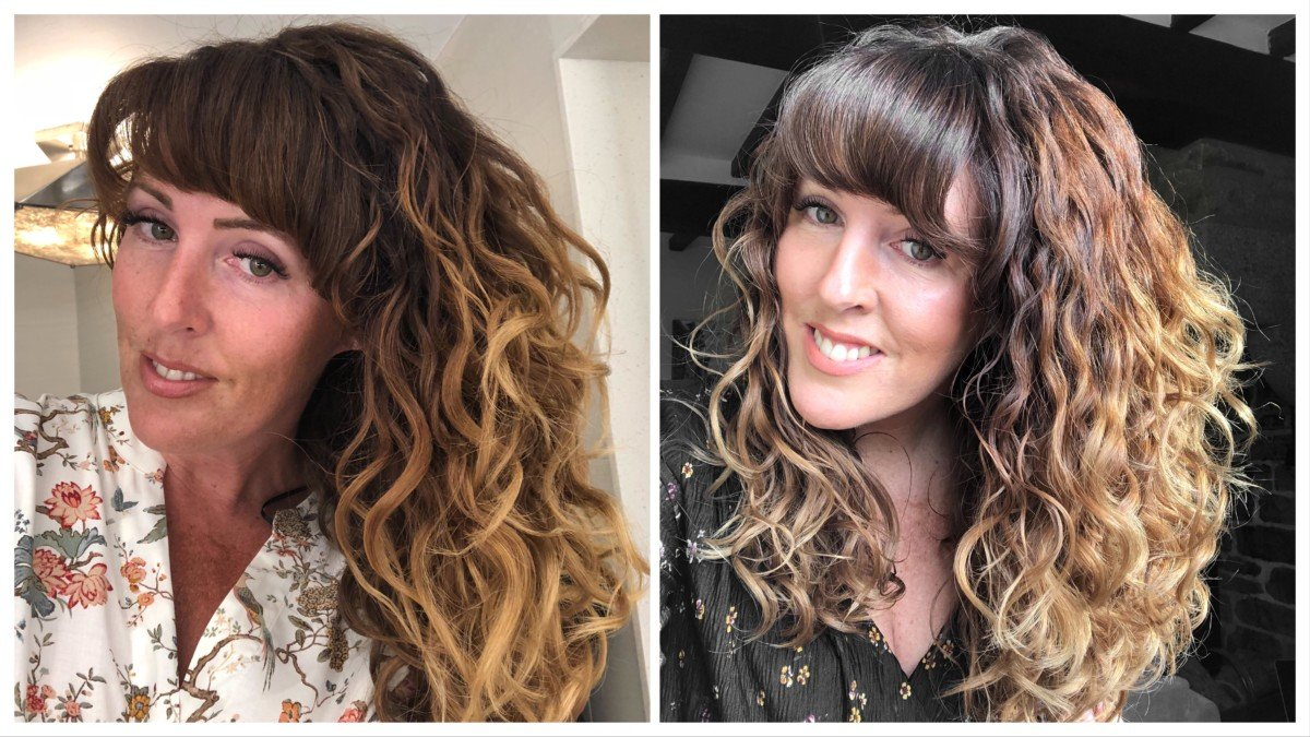 curly girl method 6 months in wavy hair