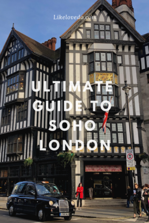 If you want to know what to do in Soho, what to eat in Soho and where to go in Soho check out this extensive list of Soho Londonday out tips.These tips and walking tour will help you discover to make the most of your time there.