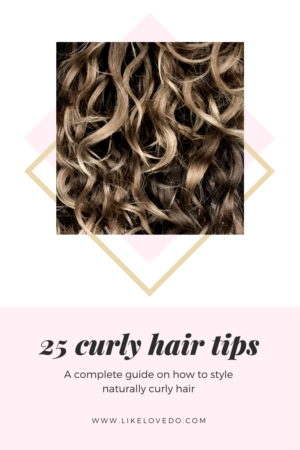 These 25 Ways on how to style Naturally Curly Hair Without Heat Styling Tools should help you learn how to style your natural curls.