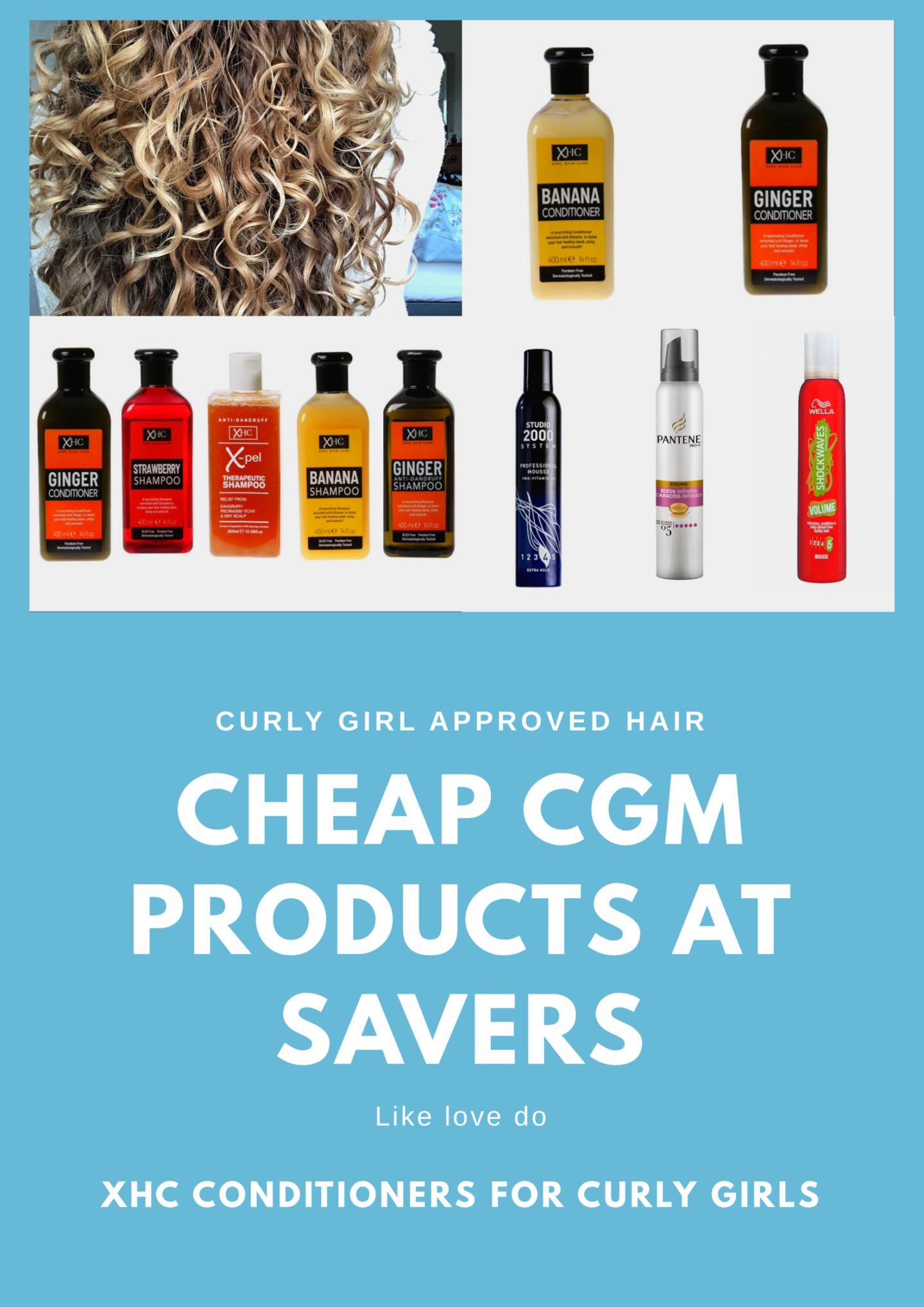 Savers stocks a range of beauty, hair and home products some of which are curly girl safe. Curly Girl Method Products in Savers can be seen in this post.Savers is a shop based in the UK with over450 shops and an online that stocks cheap cgm products.
