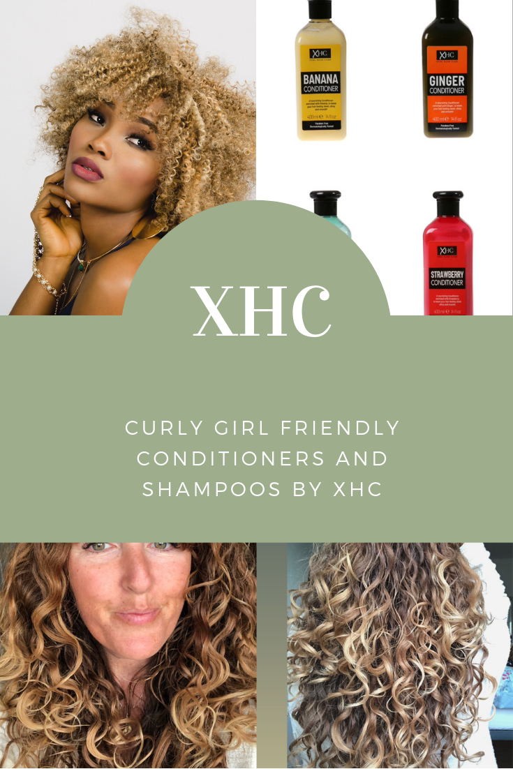 XHC banana conditioners plus XHC Ginger, tea tree and strawberry are curly girl method approved. see the full list of curly hair products here