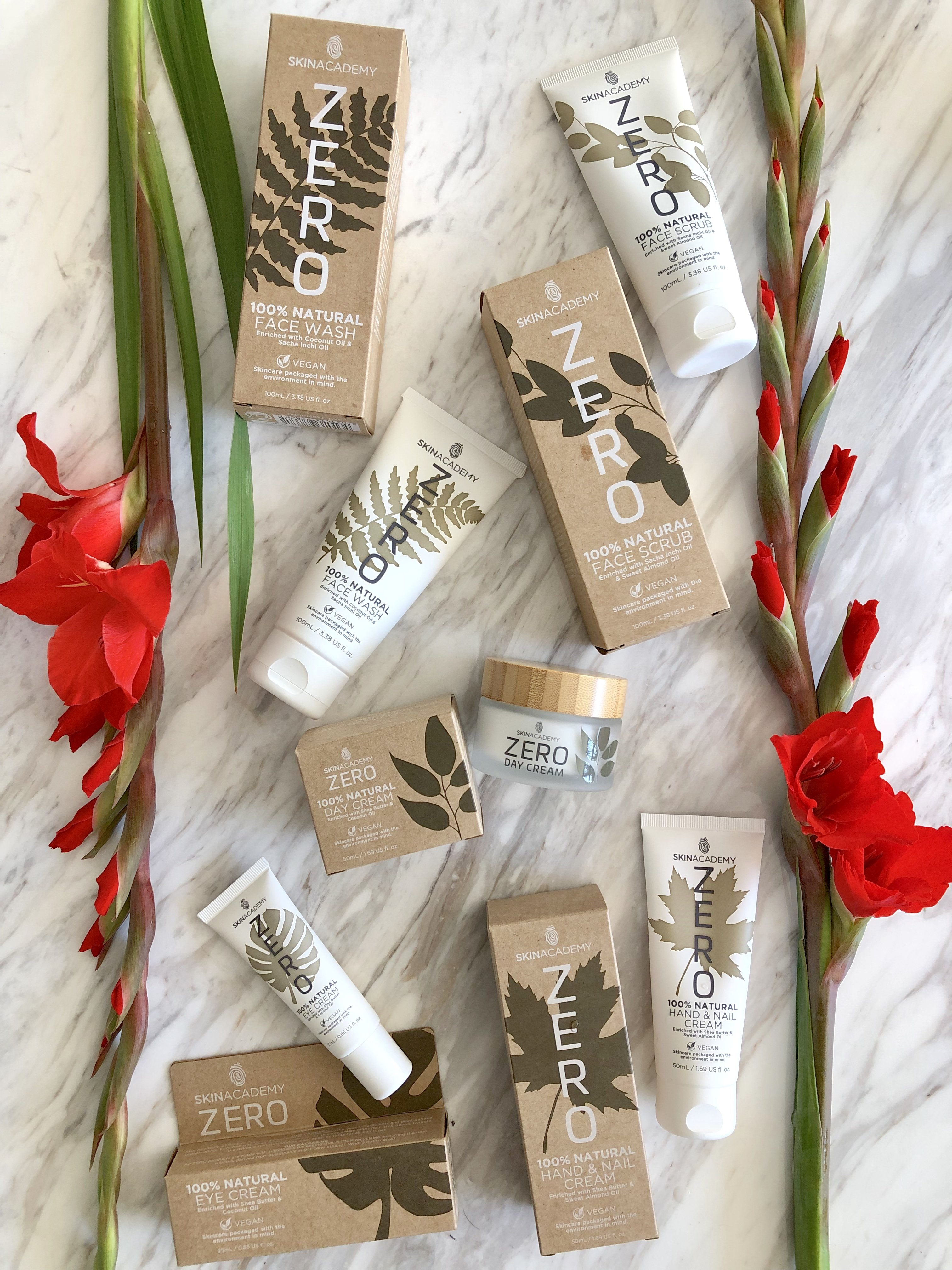 Skin Academy Zero skin care is high quality, 100% natural face and body care which has environmentally friendly packaging and is also vegan! Skin Academy Zero skin care is a range of products such a face wash and day cream which areultra hydrating as well as nourishing.