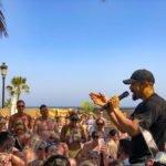 Craig David Playing at La Sala beach Club Puerto Banus Marbella
