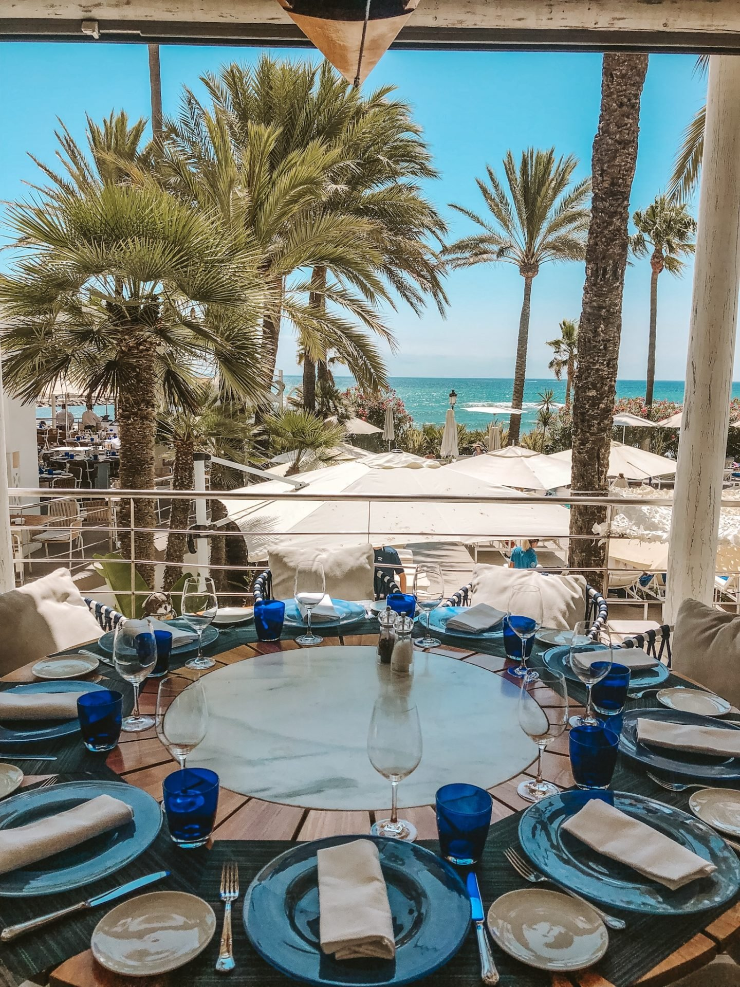 This upscale beach resort area is frequented by the rich and famous. Here you will find the Puente Romano Hotel and some other luxury restaurants and hotels such as The Sea Grill and the Marbella club.