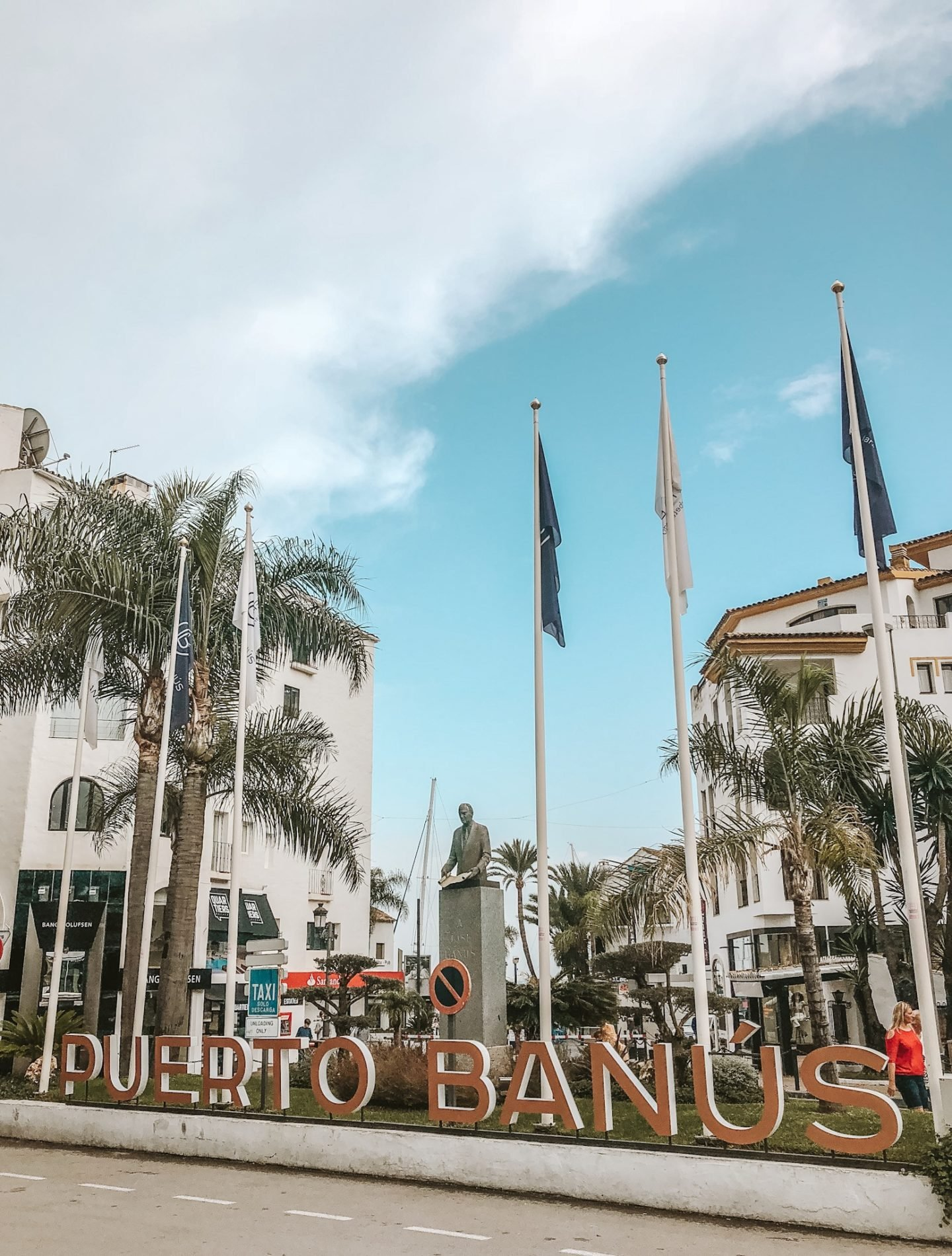 Puerto Banus Marina is known as the millionaires playground and it is the perfect place to people watch, yacht watch or spot supercars.