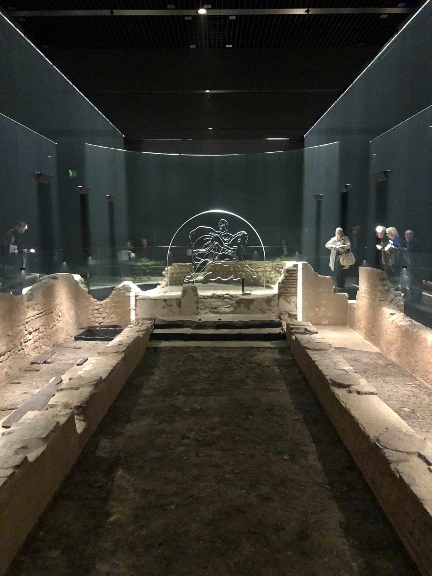 Temple of Mithras at the Bloomberg Arcade