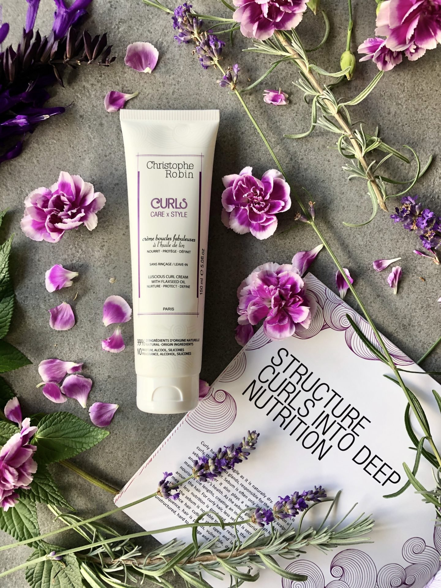 Christophe Robin Curl Cream products are curly girl method approved. Christophe Robin is high end hair care from concentrated natural active ingredients