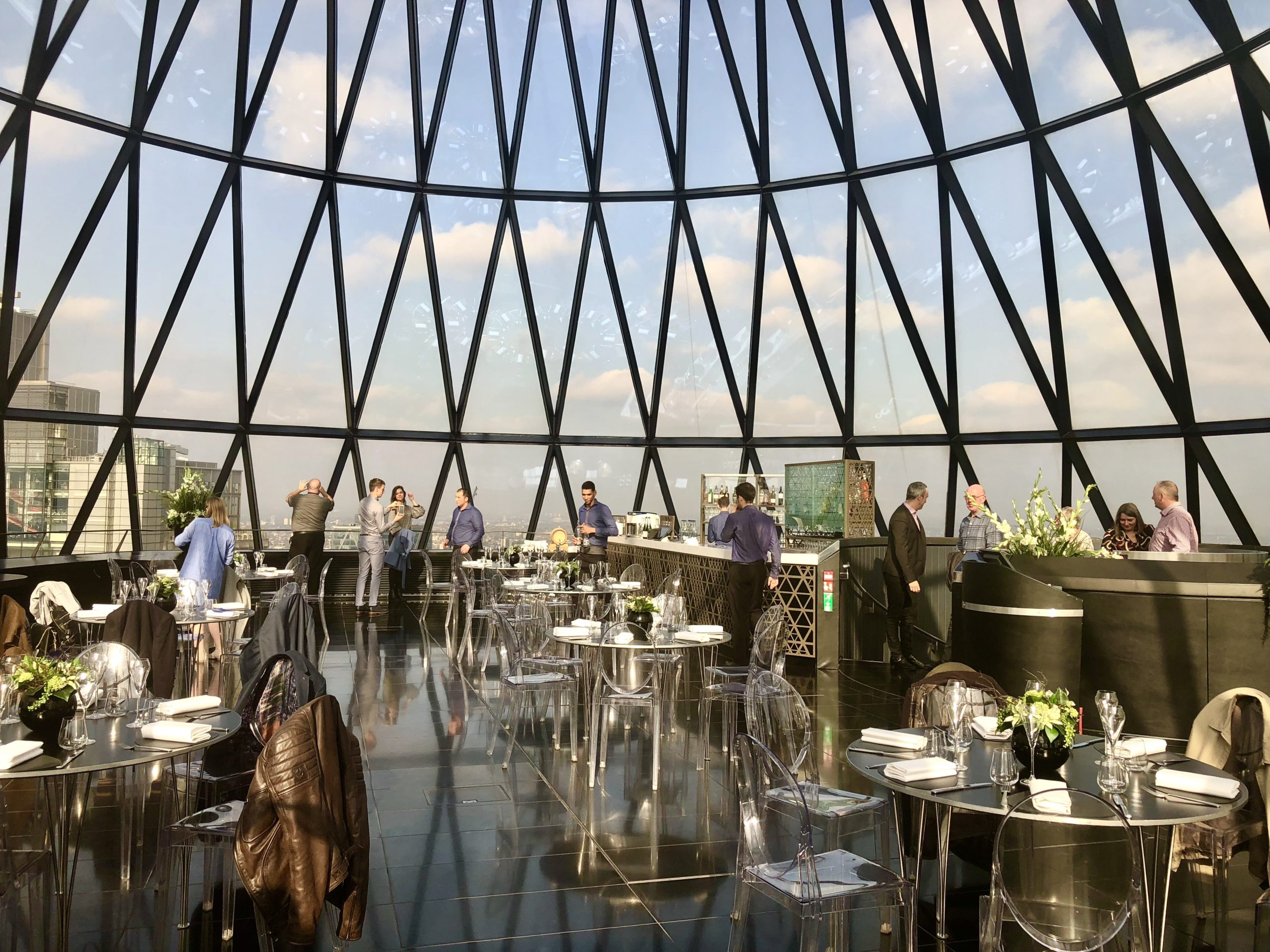 The Gherkin A London restaurant festival host