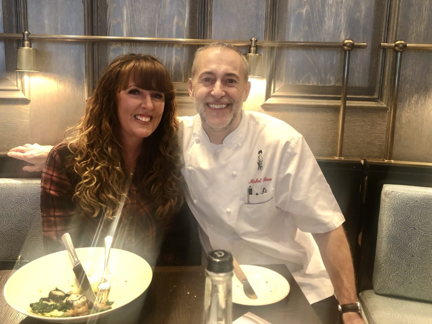 chef-hosted lunch with Michel Roux Jr at The Landau. The London Restaurant festival