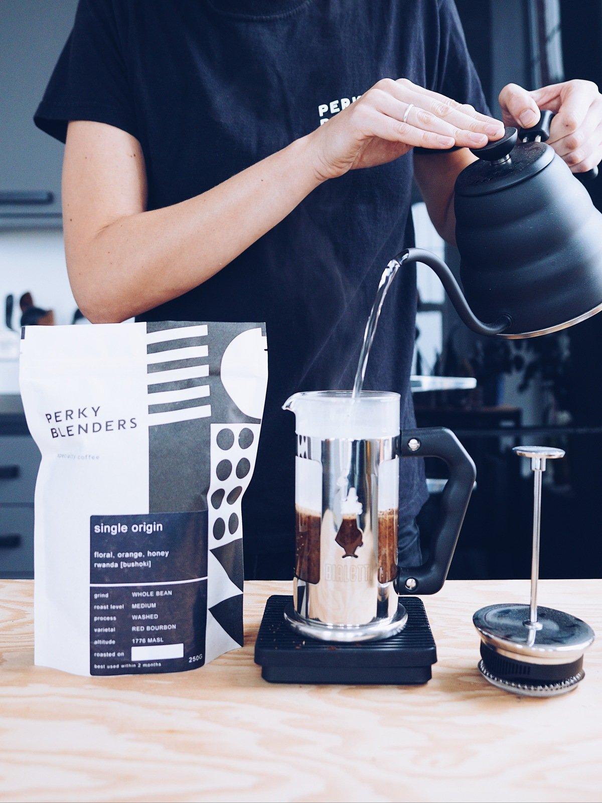 Perky Blenders coffee