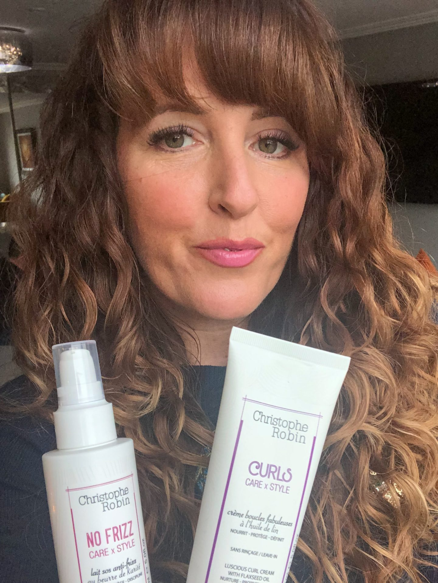 Christophe Robin Curl Cream products are curly girl method approved. Christophe Robin is high end hair care from concentrated natural active ingredients curly girl milk and cream