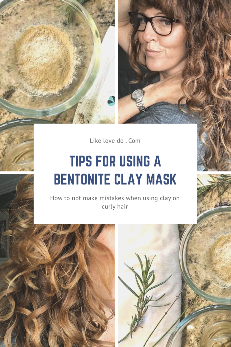 Tips for using Bentonite clay on hair while doing the curly girl method. Can I use clay on porous hair?