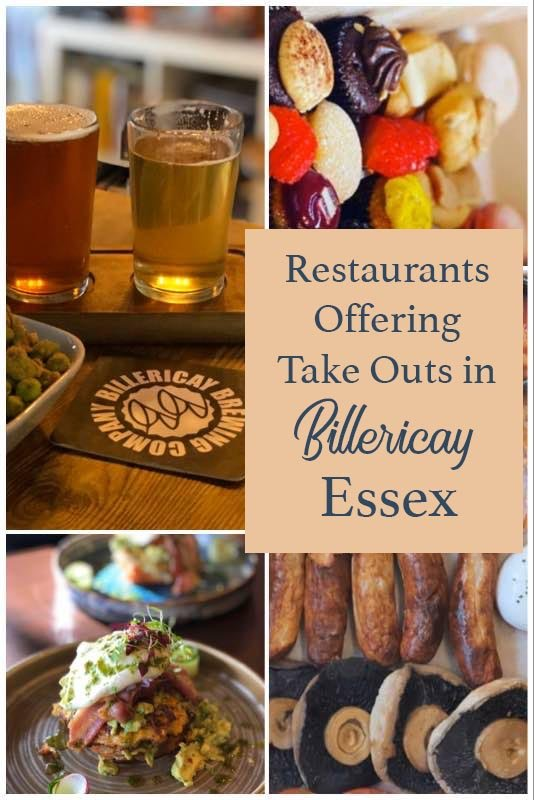 Essex and Billericay restaurants offering take out in time of need