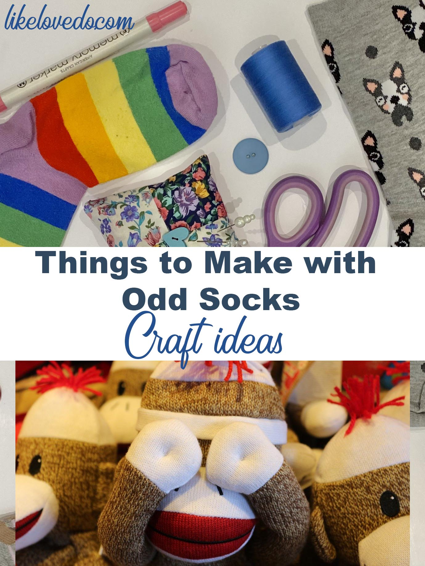 things to make with odd socks