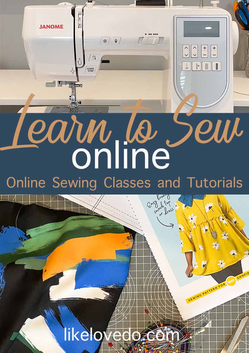Learn to sew online with these courses and tutorials