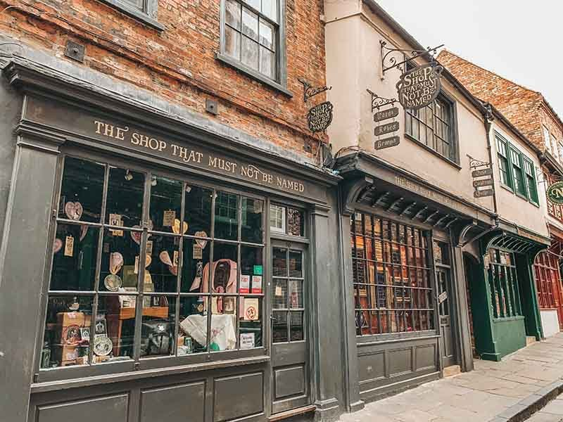 The shop that must not be named in the shambles york