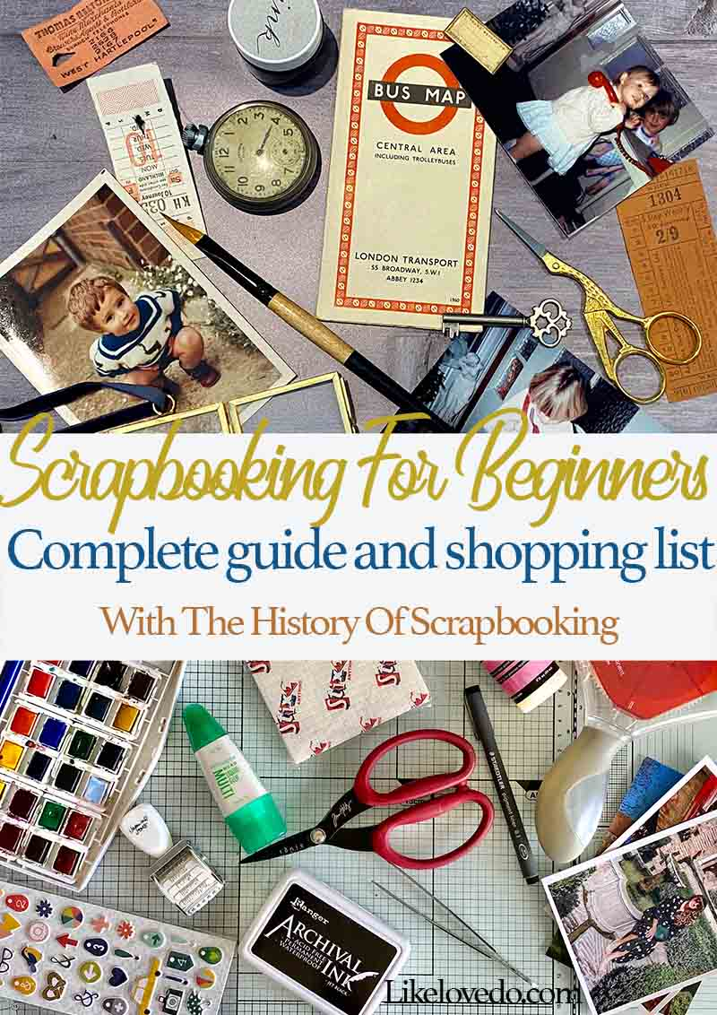 How to Scrapbook (Easy Beginners Guide) like love do