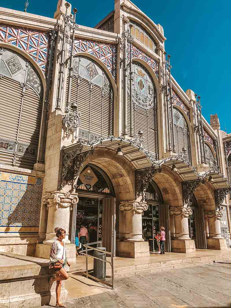 Valencia Food Hall in Spain
