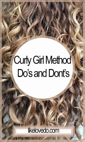 Curly Girl Do's and Donts