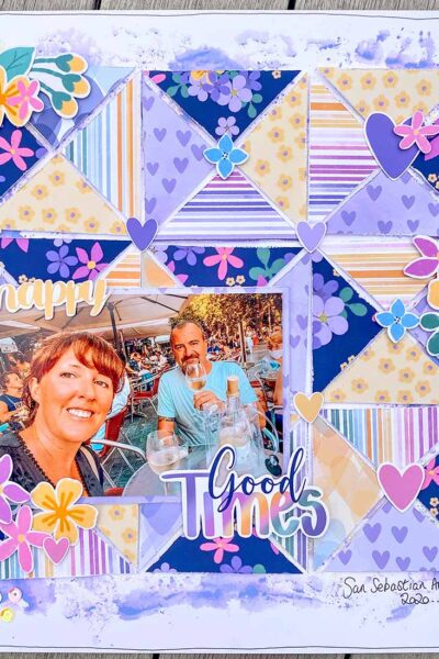 Free Spring Scrapbooking Papers and ephemera instant download